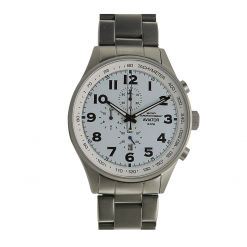 Orologio Cronografo Al Quarzo Cinturino In Acciaio