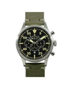 Orologio Cronografo Militare In Acciaio Fly Pilot