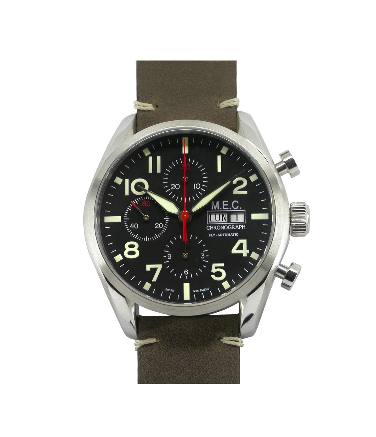 24a3df4683f Orologio Cronografo Automatico ETA VALJOUX 7750