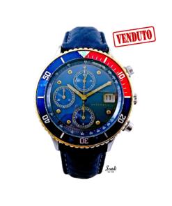 Orologio Uomo Automatico Vintage Hamilton Pepsi Meccanico Revisionato Sportivo Firenze