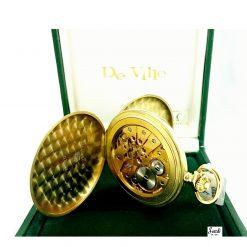 Orologio Omega Vintage Da Tasca Oro 18 KT Meccanico Scardi
