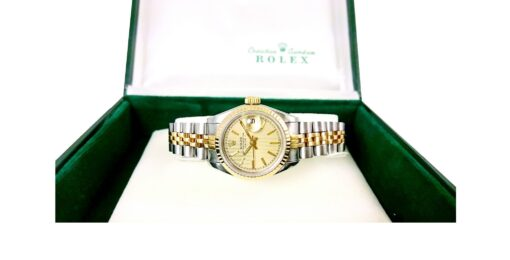 Orologio Rolex Date Vintage Donna Acciaio e Oro 18kt