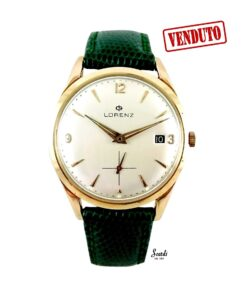 Orologio Uomo Vintage Oro 18kt Automatico Meccanico Originale Scatola Garanzia
