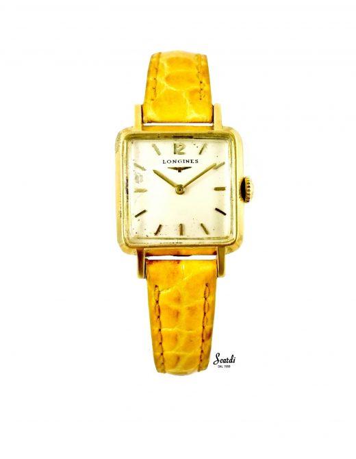 Orologio Longines Vintage Oro 18Kt Meccanico Originale Garanzia Regalo Donna