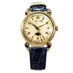Orologio anni '40 Fasi Lunari Oro 18kt