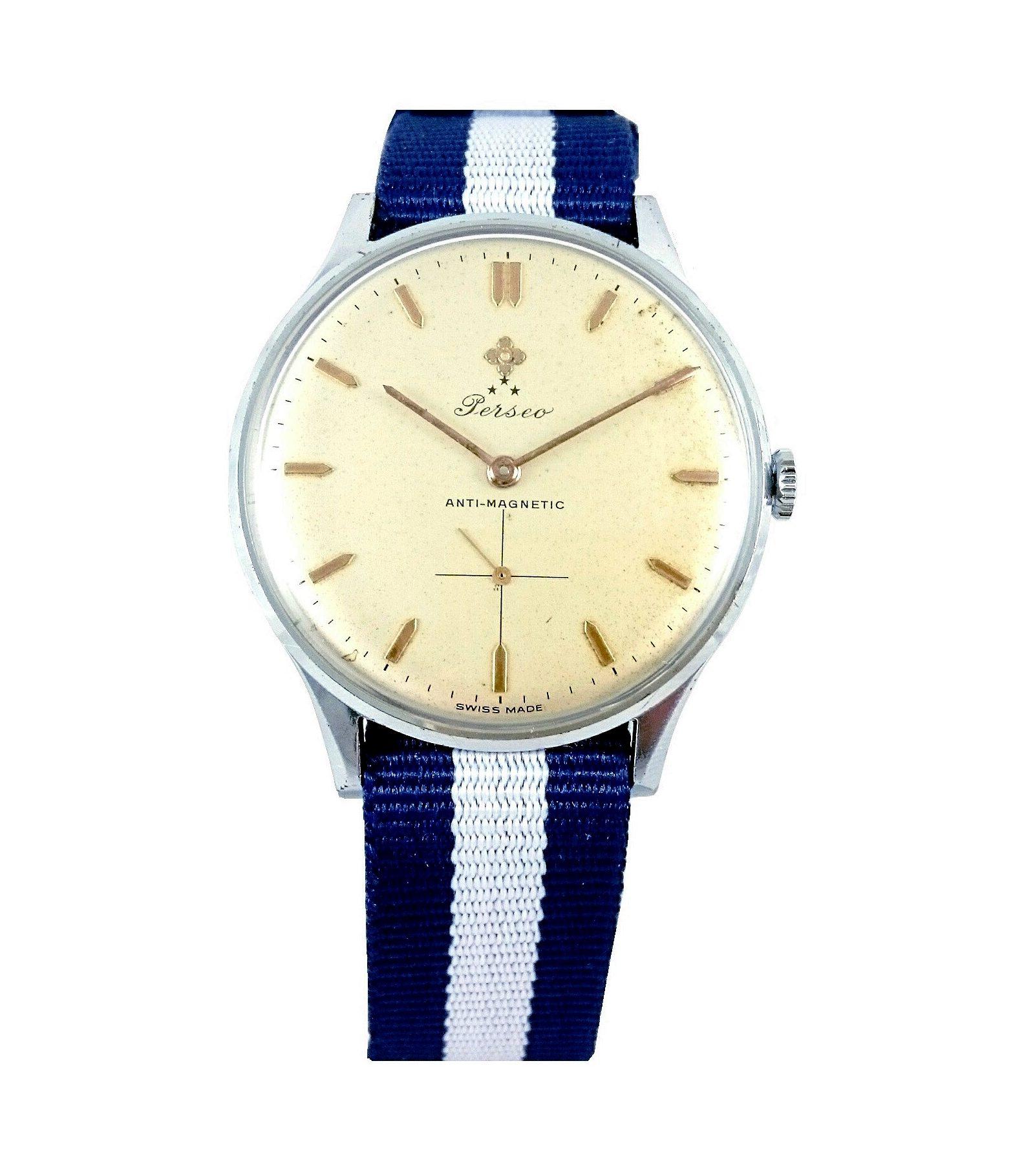 Orologio Perseo Vintage 1960 Acciaio