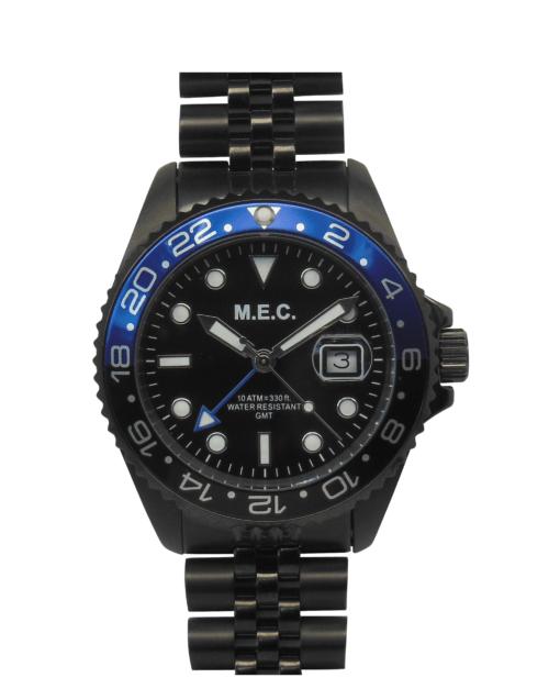 Orologio Explora GMT Nero e Blu
