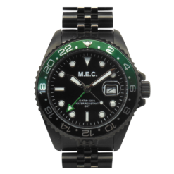 Orologio Explora GMT Verde e Nero