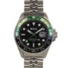 Orologio Uomo Explora GMT Verde e Nero